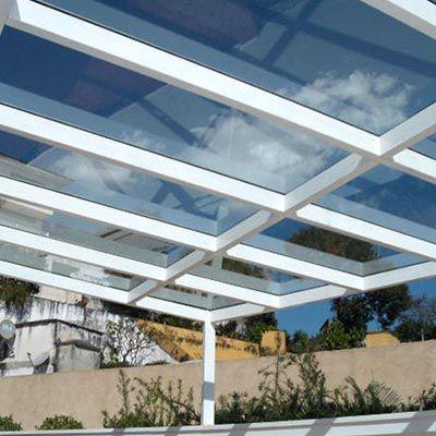 Cobertura de vidro em Campo Belo
